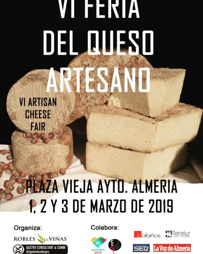 VI Feria del Queso Artesano Almería 2019