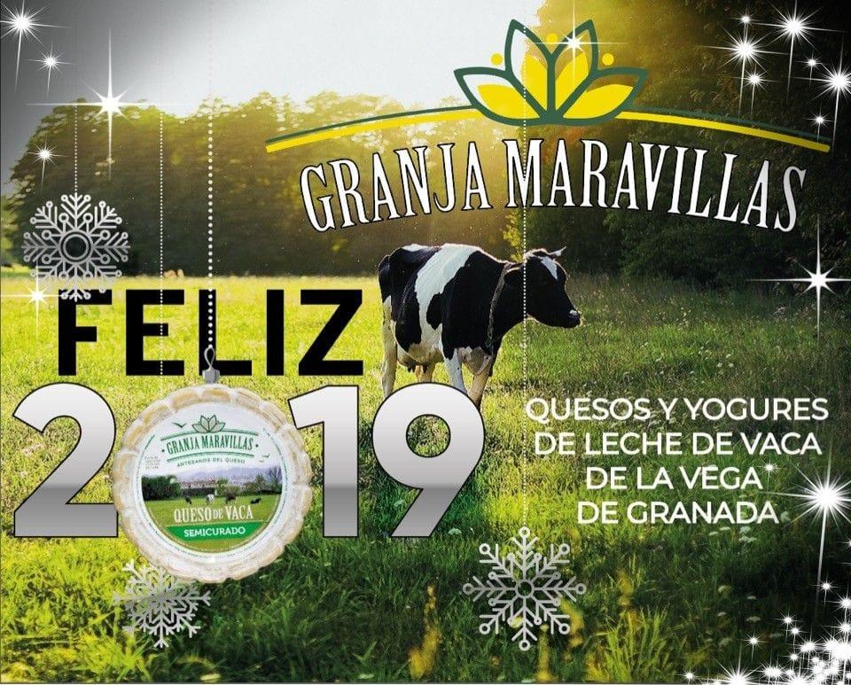 Feliz Año 2019 desde Granja Maravillas