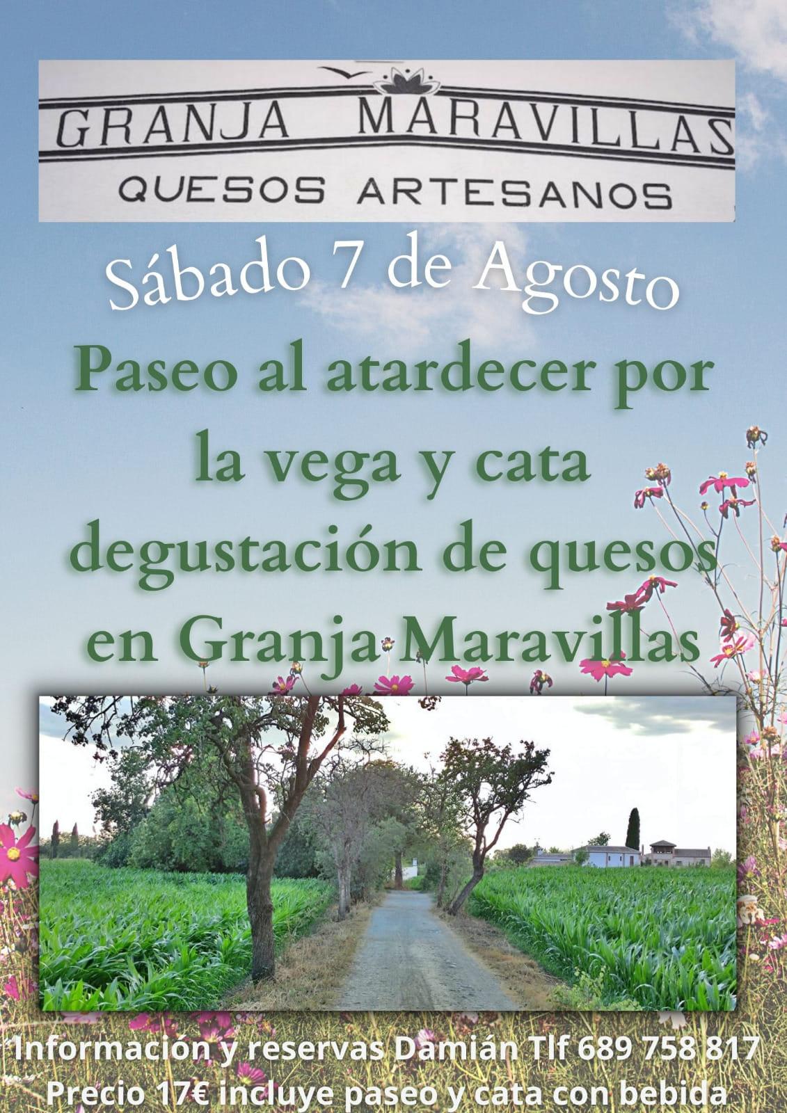 Damian Paseos Granadinos visita Granja Maravillas
